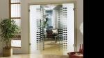 стъклена врата по поръчка 1468-3577