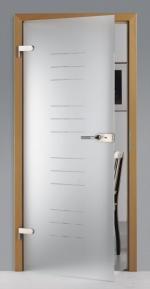 модерна стъклена врата 1500-3577