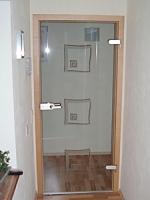 модерна стъклена врата 1505-3577