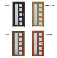 Интериорна врата Mdf и стъкло