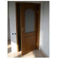 Вътрешна врата Авангард със стъкло
