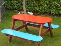 Детска маса с пейки