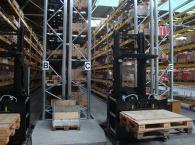 Рафтове и стелажи по поръчка за склад