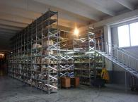 Стандартни рафтове за складово обзавеждане