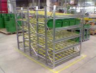 Подвижни стелажи и рафтове за склад