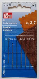 Ръчни игли за кожа № 3-7