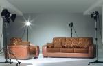 Луксозни дивани за дневна - изработка по проект