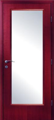 Остъклена интериорна врата