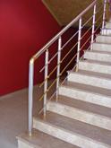 Алуминиеви парапети за стълбища