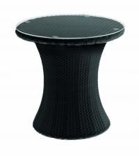 Кръгла маса от ратан