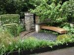 градински интериор