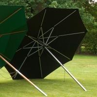 Стоманен  кръгъл чадър