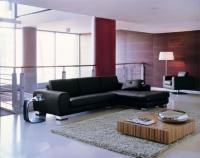 Черен диван по поръчка