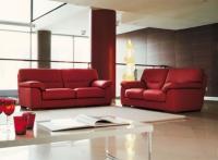 Червени мебели за дневна