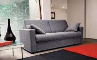 Сив диван с възглавници