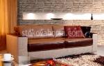 луксозна триместна мека мебел
