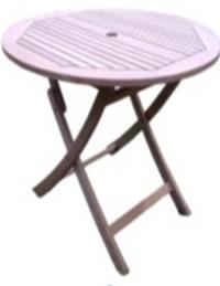 Кръгла маса за градина и кафе