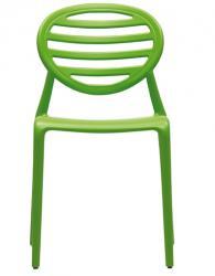 Дизайнерски стол зелен