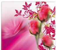 Плот за маса верзалитов с цветя