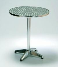 Алуминиева маса,кръгъл плот,60см.