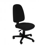 Висок клас офис стол без подлакътници черен