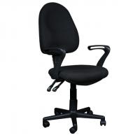 Комфортен офис стол с ергономична облегалка