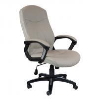Директорски офис стол луксозен сив