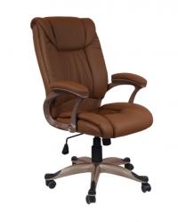Луксозен директорски стол цвят кафе