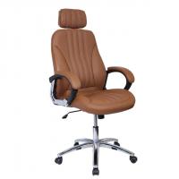 Стол за директор в цвят кафе