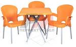 Пластмасови комплекти маси и столове за градината