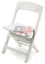 Пластмасови сгъваеми столове за басейн