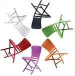 Градински пластмасови столове италиански