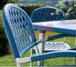 Удобен за сядане метален стол за бар
