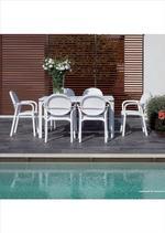 Устойчиви столове от алуминий за бар