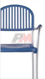 Метален стол за бар