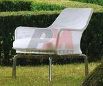 Външни алуминиеви столове за кафенета