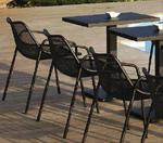 Метален стол за плаж