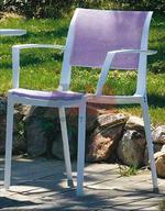 Универсален стол от метал за вътрешно и външно използване