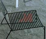 Градински стол произведен от метал