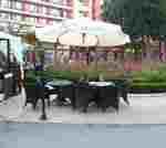 Рекламни чадъри за заведение