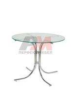 Алуминиеви здрави маси и столове с разнообразни размери на плот
