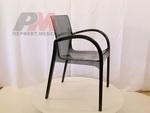 Пластмасова дизайнерски стол за открити пространства
