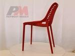 Пластмасови дизайнерски дизайнерски столове,подходящи за навън