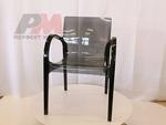 Външен пластмасов стол за заведения