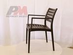 Пластмасов дизайнерски стол за бар