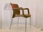Пластмасови дизайнерски дизайнерски столове с разнообразни размери плот