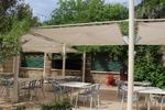 Стилна основа за бар маса за ресторант