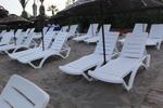Шезлонги за голям плаж