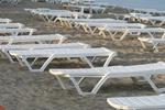 Шезлонги за плаж на едро