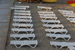 Шезлонги,произведени за голям плаж